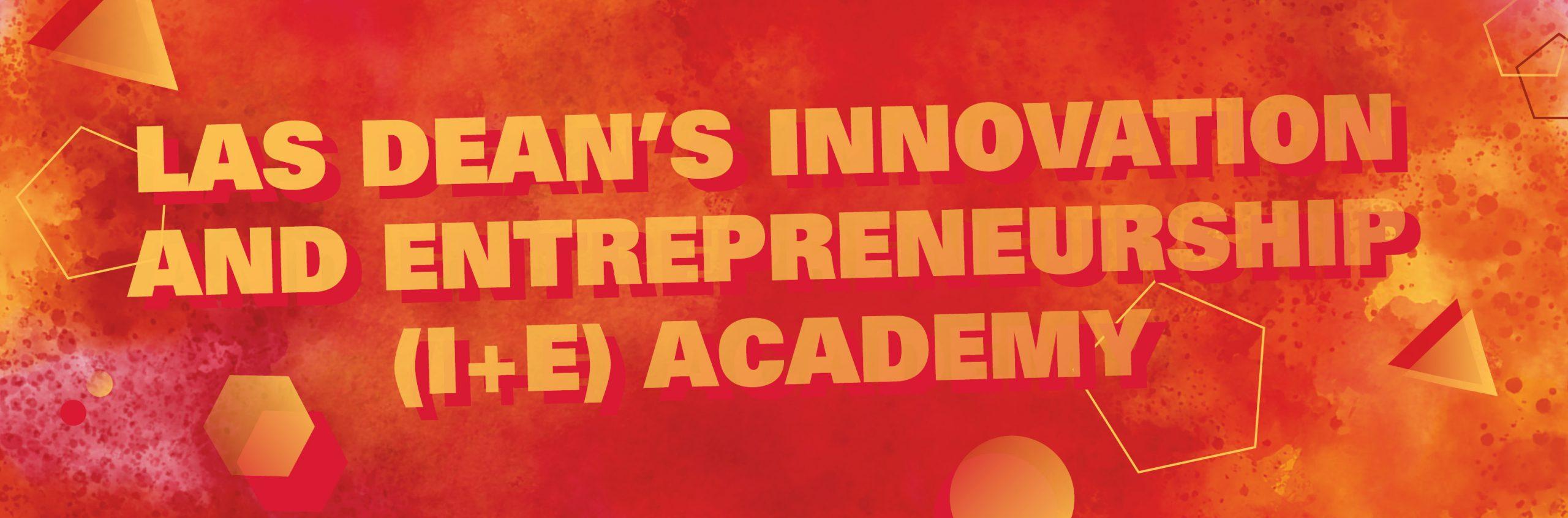 Deans Innovation and Entrepreneurship Academy Banner