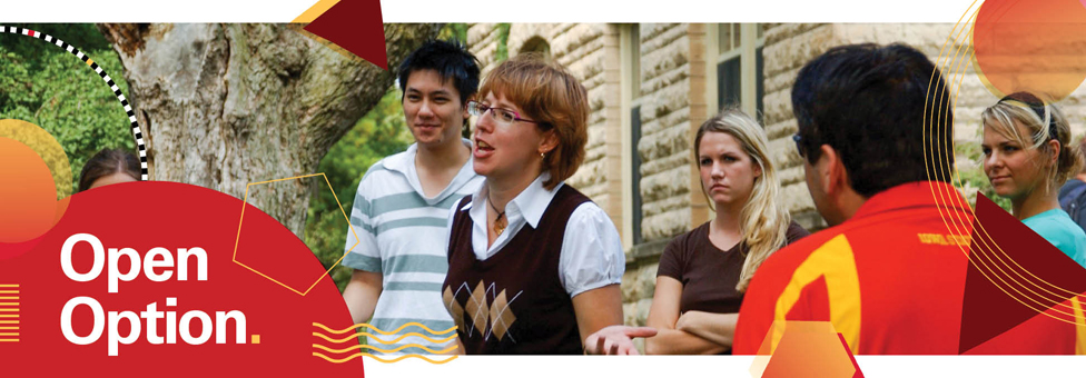 Iowa State College of Liberal Arts and Sciences Open Option